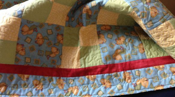 Border of Baby Quilt